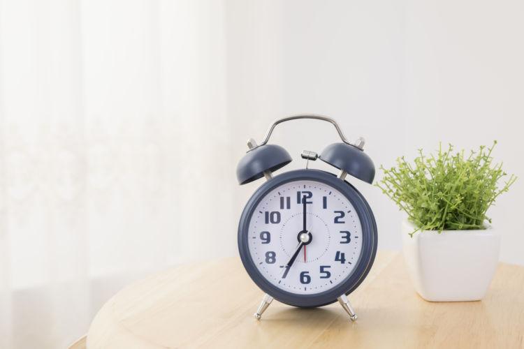 対処法と応急処置②「時間を伝える」