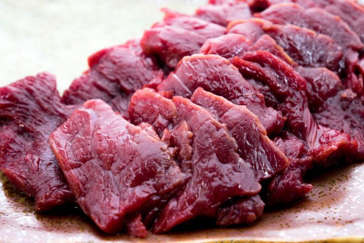 与えても良い肉③「馬肉」
