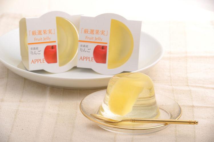 りんごの加工品③【りんごゼリー】