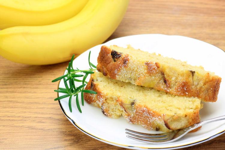 バナナ製品④【バナナケーキ】