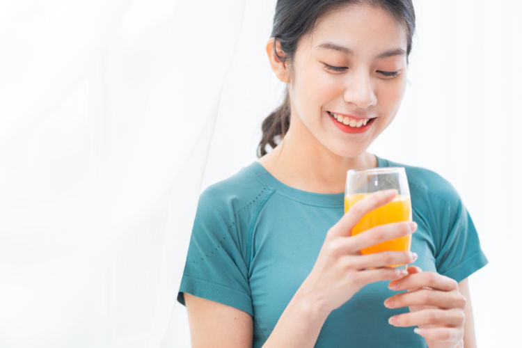 みかんの加工品④【オレンジジュース】