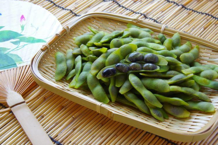 黒枝豆(黒豆枝豆)