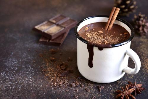 チョコレートパウダーとココア